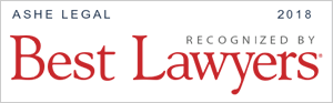 Ashe Legal Best Lawyers 2018